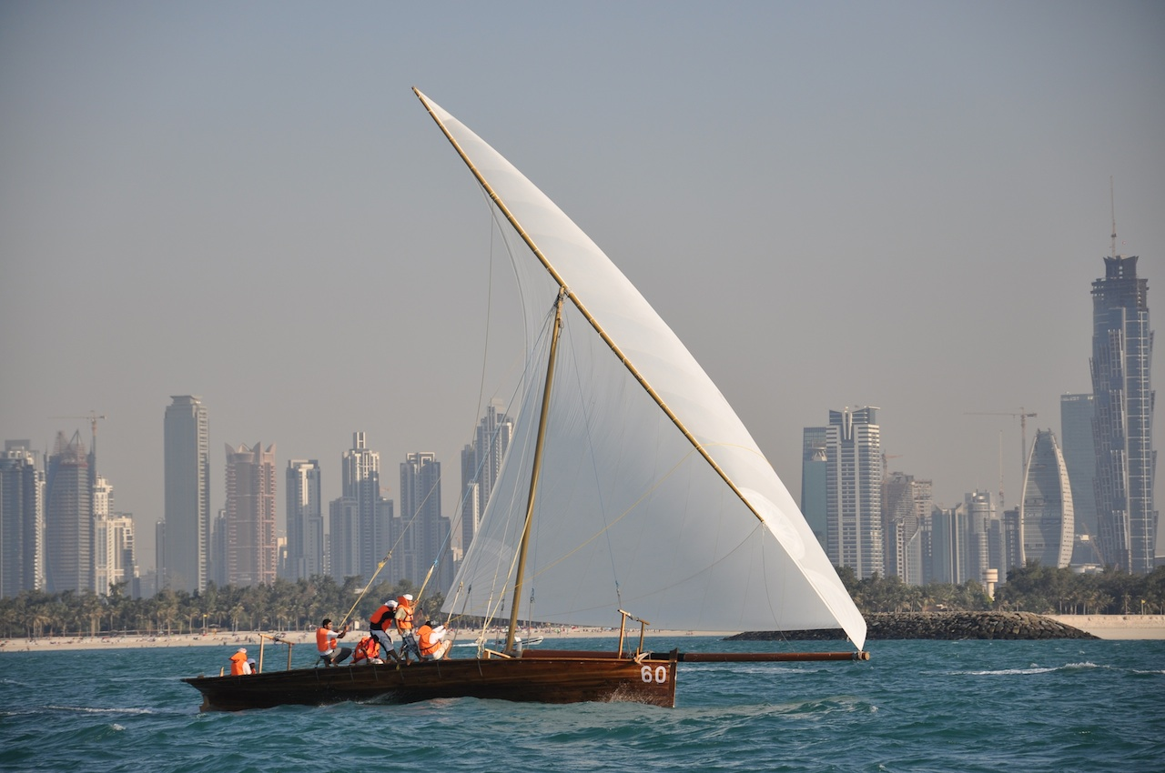 Sailracewin dhows in dubai 14th january 2011 for The sail dubai