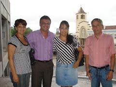 Visita ao Prédio da Nova Câmara de  Vereadores de Rosário do Sul