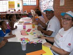 Vereador Edmundo da Rosa participa do dia da Ação Voluntária