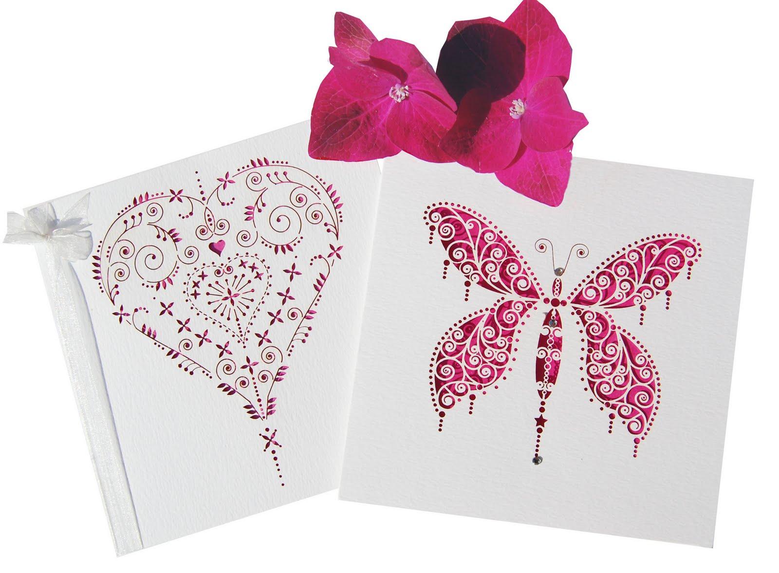 Inspiration - Hot Pinks - Hummingbird Card Company Blog
