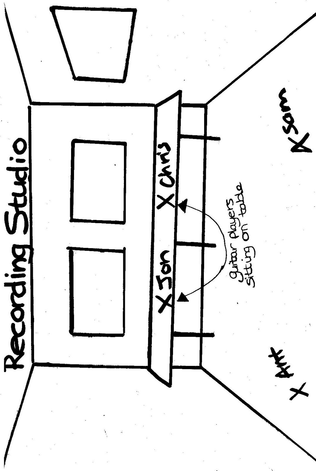 Melbournemedia Recording Studio Floor Plans