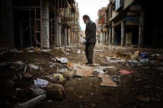 devastation in Baghdad