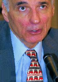 Ralph Nader with GOP tie