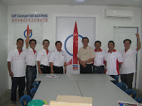Our comrades in Kaki Bukit branch
