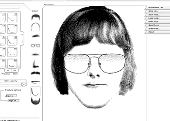 Sketch Faces Online Like Facial Recognition System