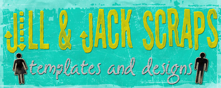 Jill & Jack Scraps: Templates & Designs