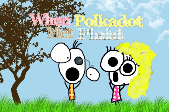 When Polka Dot Met Plaid