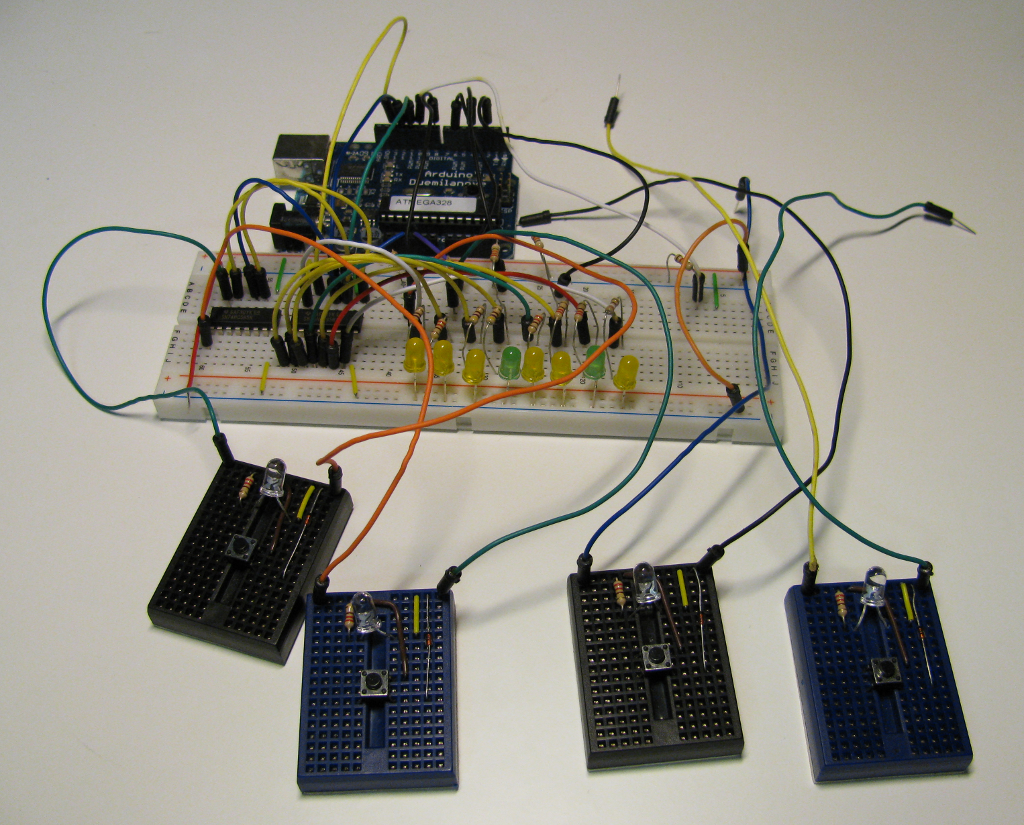 how to make a quiz buzzer system