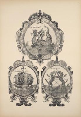 Coats of arms of kazan czar astrakhan czar siberian czar 1903