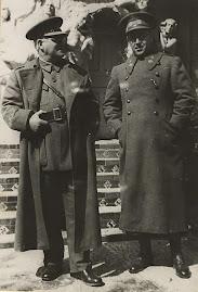 General Miaja y Coronel Rojo