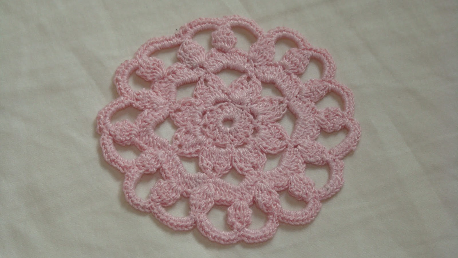 Free Crochet Patterns For Mini Doilies : Crafts By Starlight: Crochet - Mini Doily