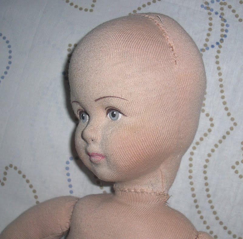 Голова для текстильной куклы мастер классы