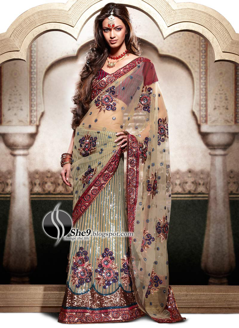 Saree Designs Latest Indian Saree Fashion 2010 She9