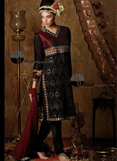 New Mughal Style Dress Fashion She9 Change The Life Style