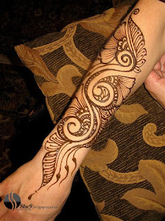 Leaf Mahndi Design