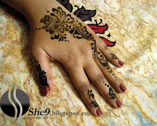 Flower Mehndi Designs For Back Hands : New bridal mehndi designs mahendi henna