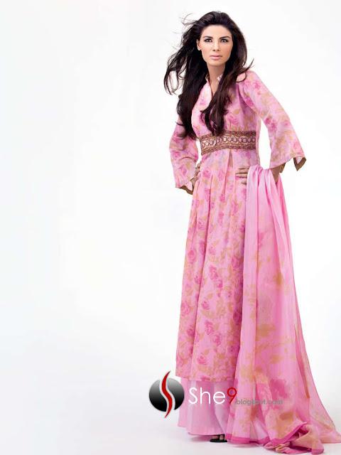 top 3 pakistan frock 2013 best dress designs