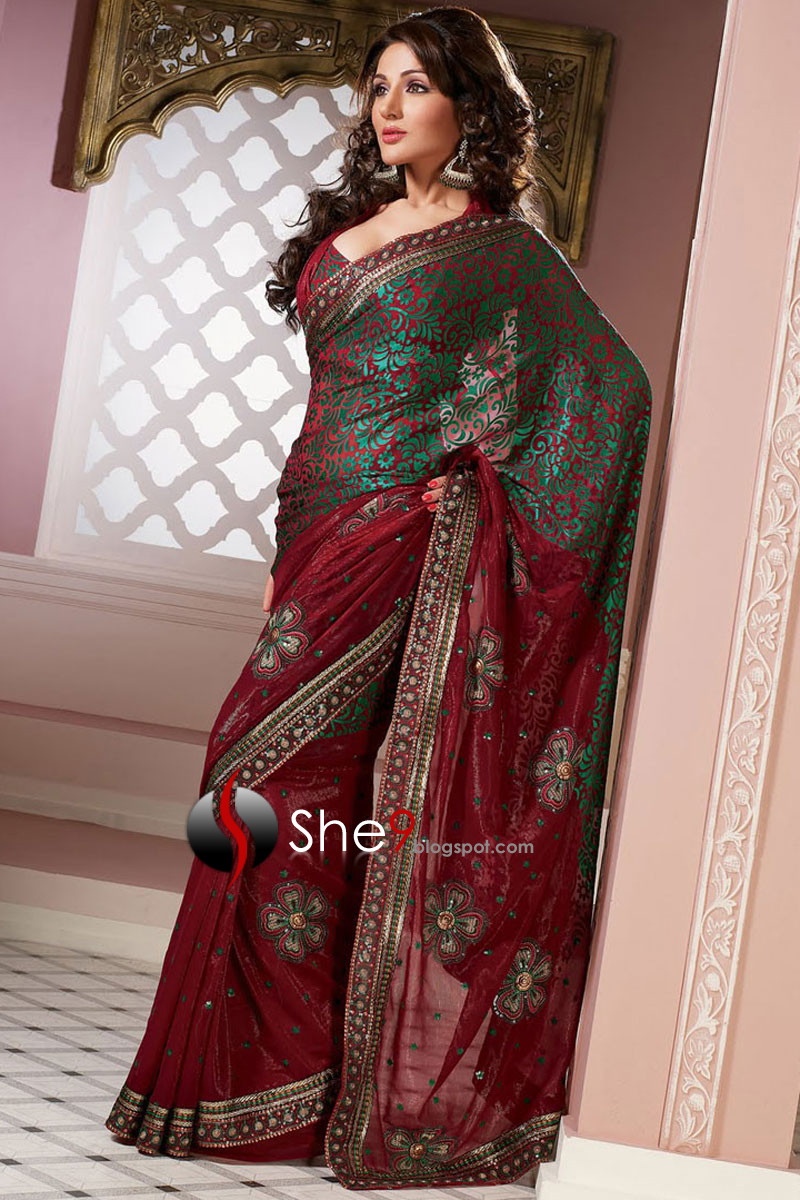 Saree Indian Saree Collection 2010 2011 Indian Saree Designs She9 Change The Life Style