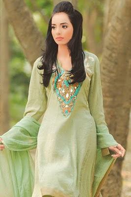 Neckline Fashion   Gala / Neck Designs of Kameez Dresses - She9 ...