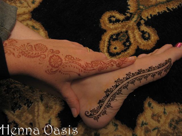 Side Feet Mehndi Designs : Latest & new arabic and indian mehndi design 2013