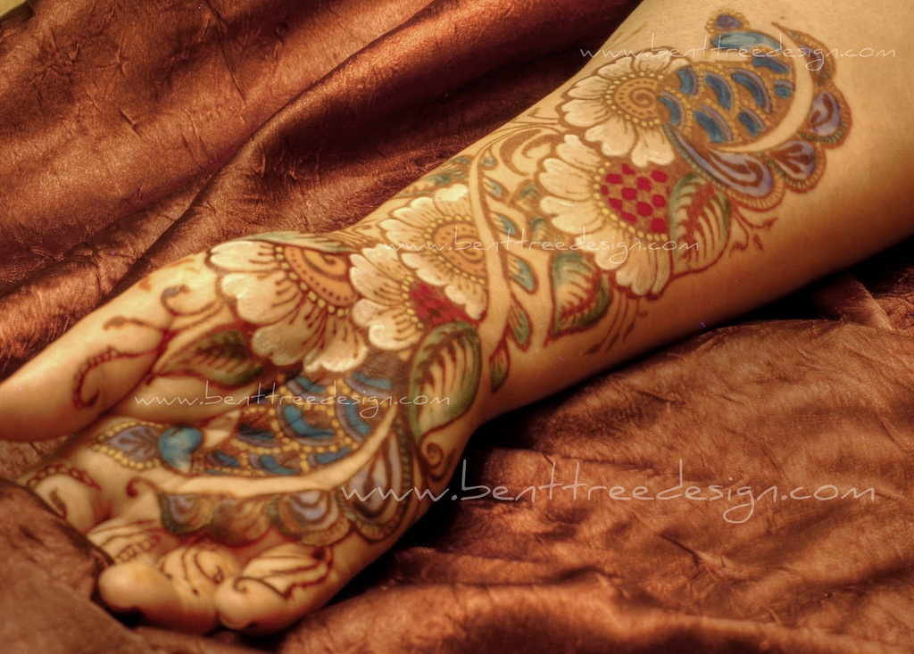 Multi Color Mehndi Designs  New Mehndi Picture Collection  She9  Change Th