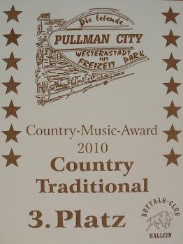 Pullman City 3. Platz Holztafel