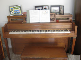 "Our ""new"" piano"