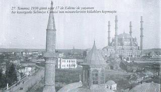 Selimiye Camii nin Minareleri..