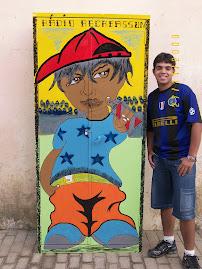 A rádio Recrassom faz uma exposição da obra de arte doda obra de arte do aluno Deivid para todos