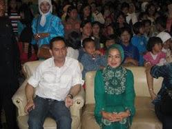 Tb Chaeri Wardana, BBus (Wawan/GelarPalsu) & Istrinya Hj. Airin Rachmi Diany,SH,MH (Unpad/Asli)