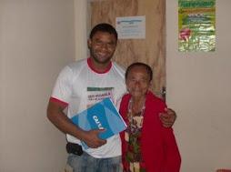 Dona Egídia, uma idosa de garra!!! Aviversariante do dia 13 de junho.