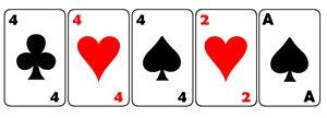 Jogadas de Poker, Trinca