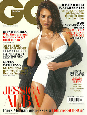 Jessica Alba - GQ Magazine (UK) November 2010 photoshoot GQ Magazine