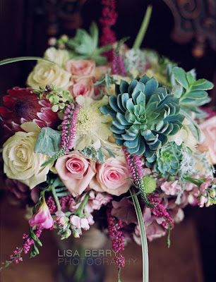 succulents bouquet