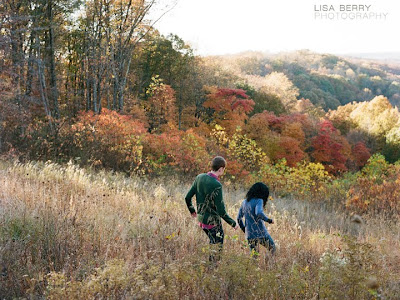 brown county fall wedding