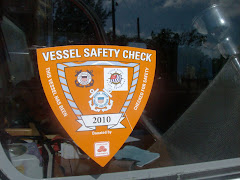 Our Vessel Safety Sticker.  A good idea to update annually.