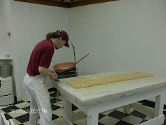 Making  fudge in Mackinaw Island, MI