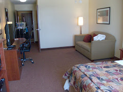 Hmmmmm.  Is the motel room more spacious than the boat?