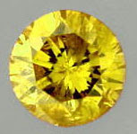 A Fancy Deep Yellow Diamond