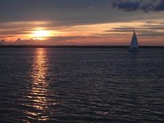 Sunset over Lake Monroe