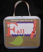 Fall Leaf Tin