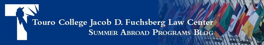 Touro Law Center Summer Abroad Programs