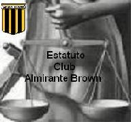 Estatuto - Club Almirante Brown