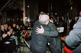 Joaquim dos Santos e Massimo Scapin, Dezembro 2007 - Roma