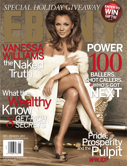 The beautiful Vanessa Williams goes nude for the holiday December ...
