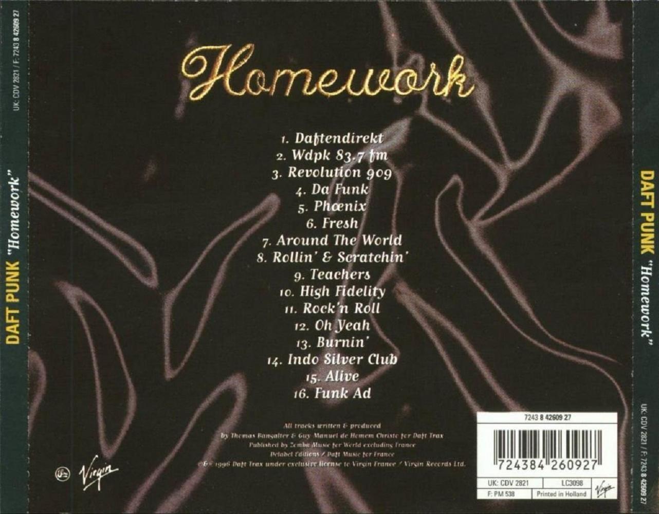 homework electronic music