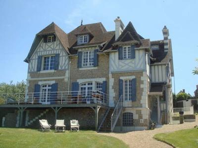 Grand gite de groupe en normandie 15 personnes honfleur for Maison prestige a louer