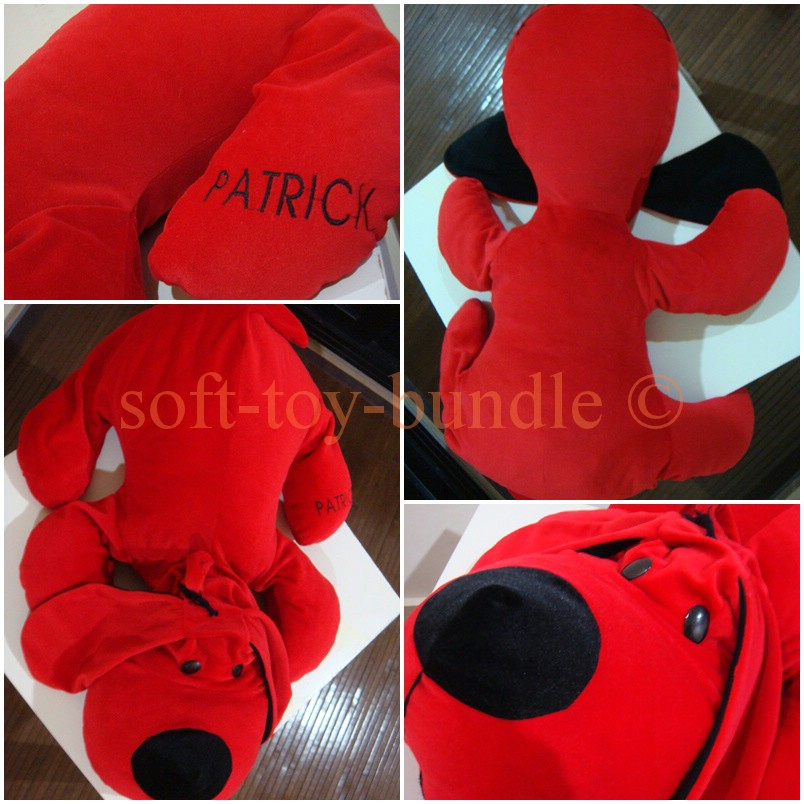 item p102 # giant PATRICK puppy (XL) SOLD