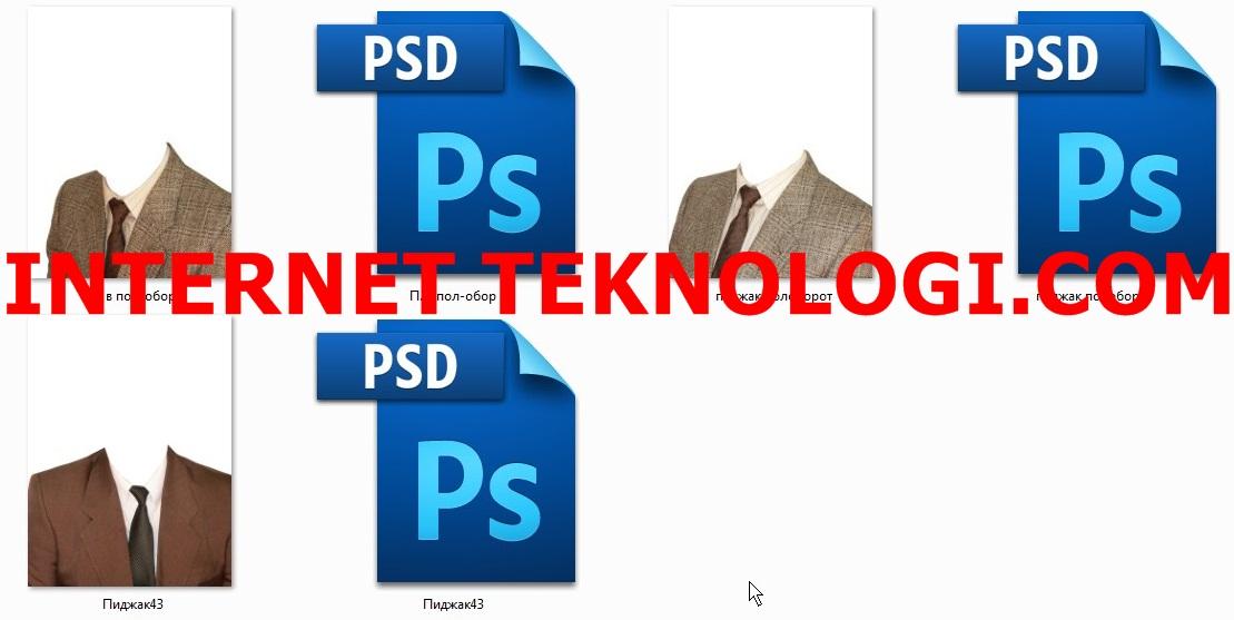 Download PSD Baju : Photoshop