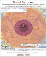 En atombomb i City.
